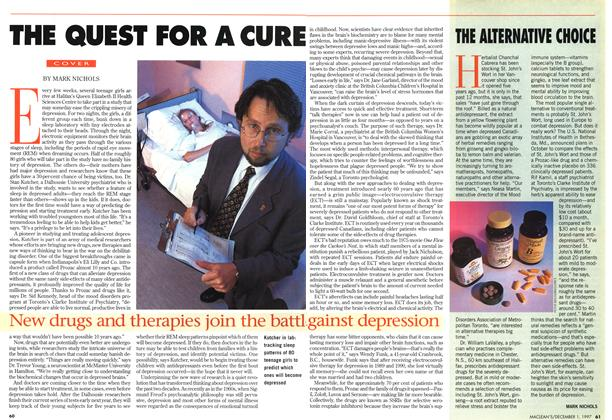 Article Preview: THE QUEST FOR A CURE, December 1997 | Maclean's