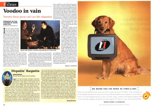 Article Preview: Disputin' Rasputin, December 1997 | Maclean's