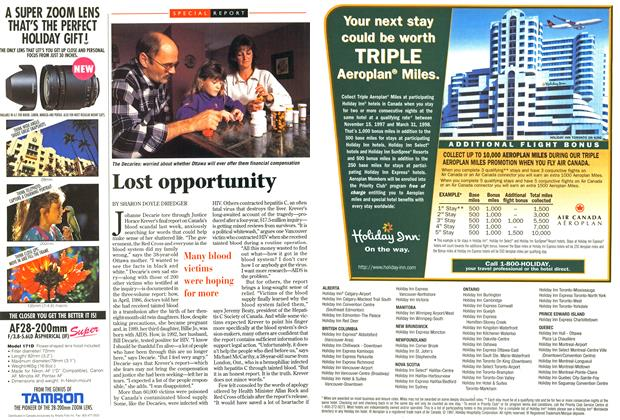 Article Preview: Lost opportunity, December 1997 | Maclean's