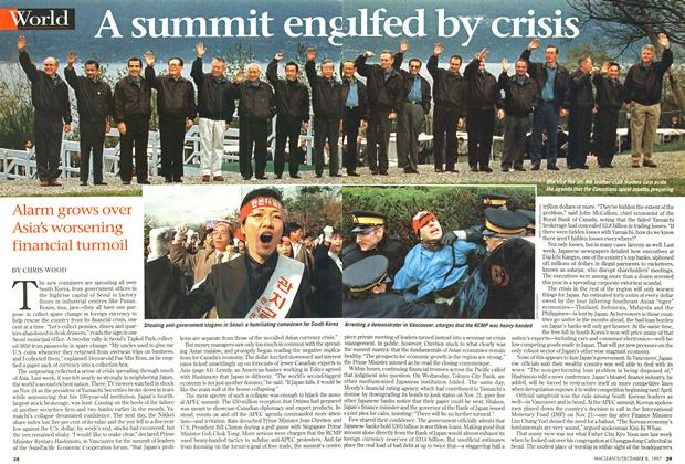 Article Preview: A summit engulfed by crisis, December 1997 | Maclean's