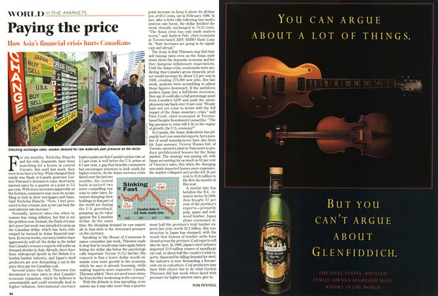 Article Preview: Paying the price, December 1997 | Maclean's
