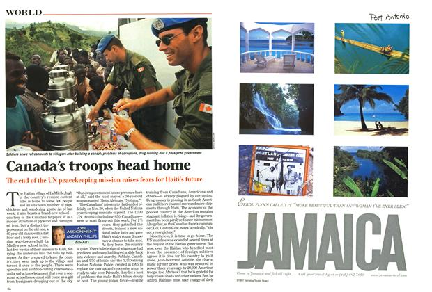 Article Preview: Canada's troops head home, December 1997 | Maclean's