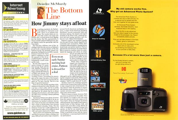 Article Preview: How Jimmy stays afloat, December 1997 | Maclean's