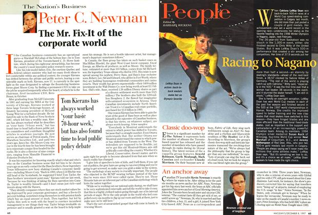 Article Preview: The Mr. Fix-It of the corporate world, December 1997 | Maclean's