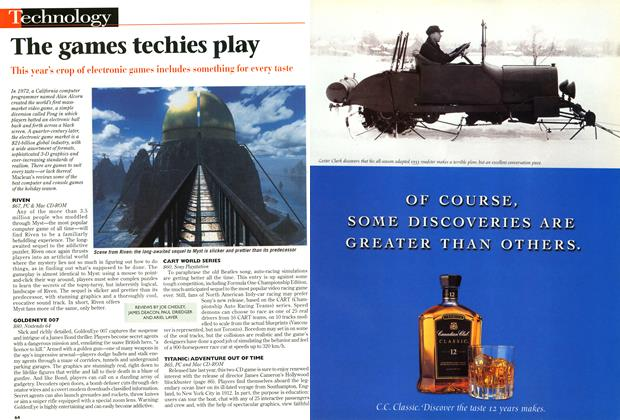Article Preview: The games techies play, December 1997 | Maclean's