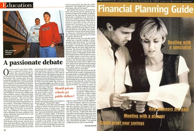 Article Preview: A passionate debate, December 1997 | Maclean's