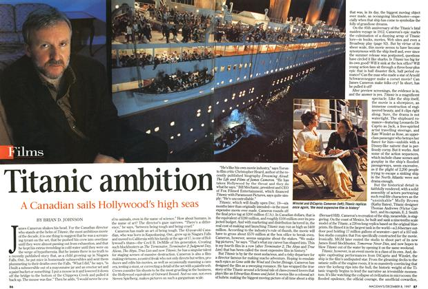 Article Preview: Titanic ambition, December 1997 | Maclean's