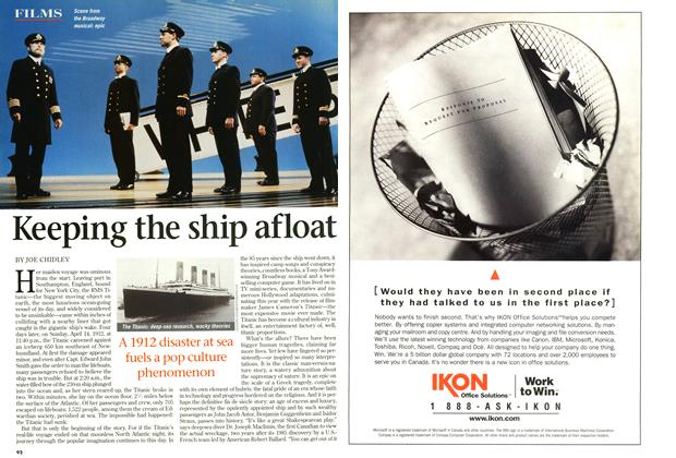 Article Preview: Keeping the ship afloat, December 1997 | Maclean's