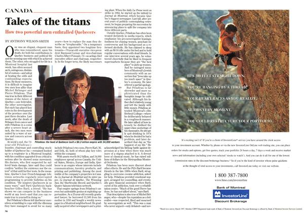 Article Preview: Tales of the titans, December 1997 | Maclean's