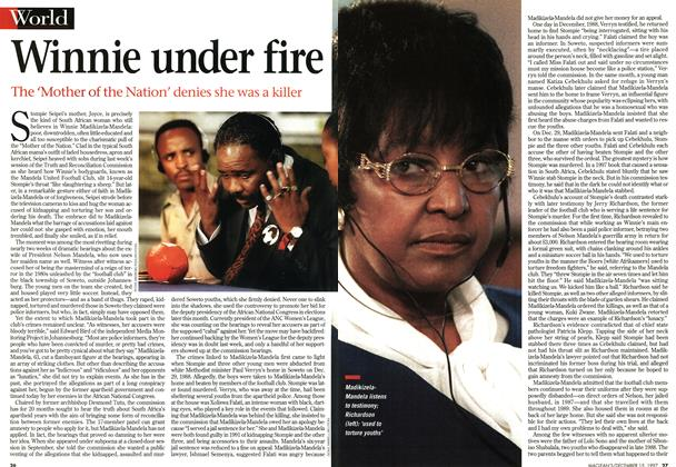 Article Preview: Winnie under fire, December 1997 | Maclean's