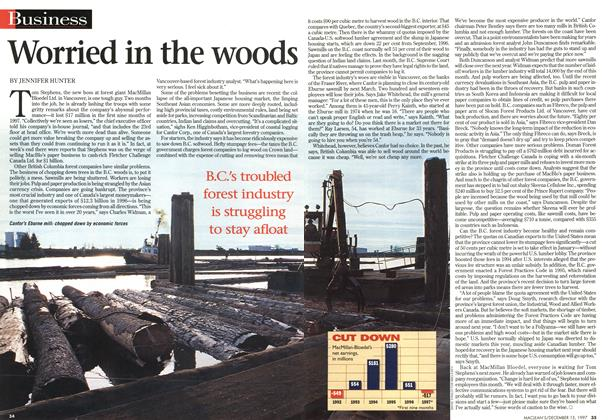 Article Preview: Worried in the woods, December 1997 | Maclean's