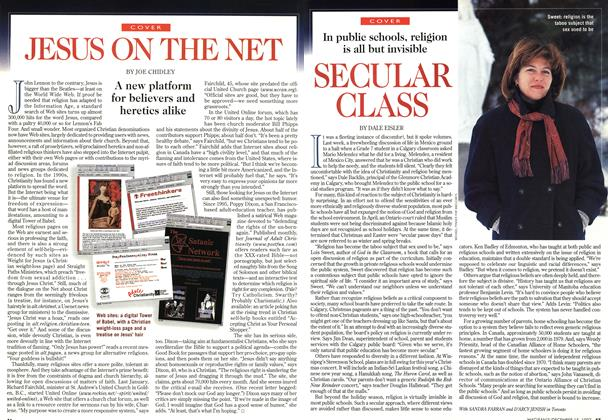 Article Preview: JESUS ON THE NET, December 1997 | Maclean's