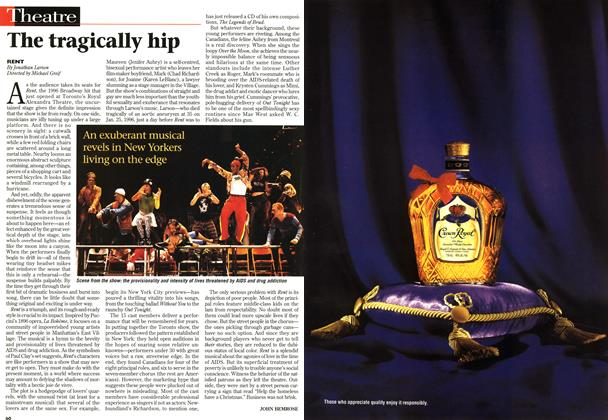 Article Preview: The tragically hip, December 1997 | Maclean's