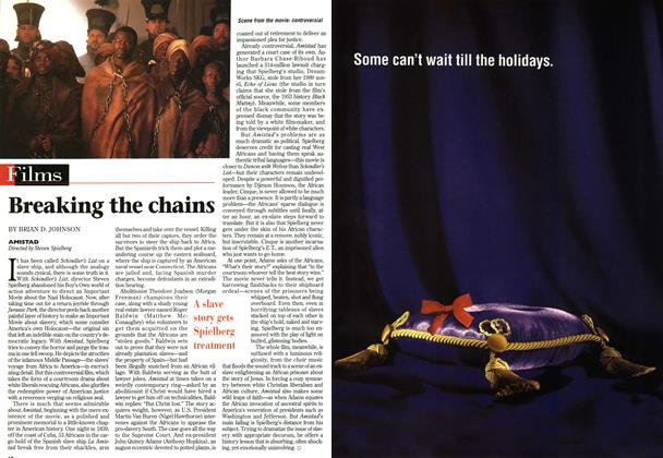 Article Preview: Breaking the chains, December 1997 | Maclean's