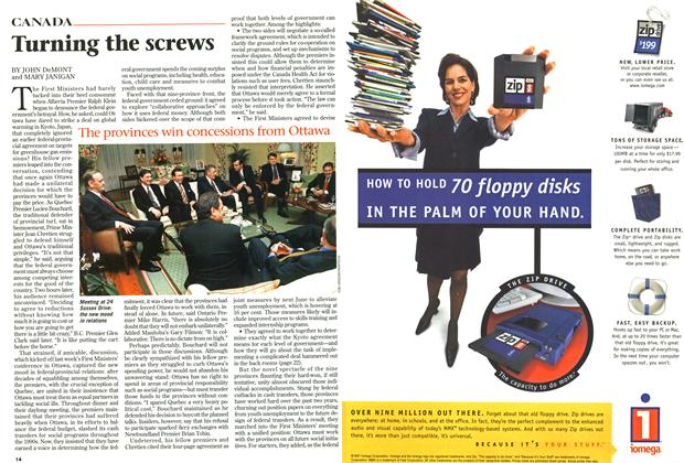 Article Preview: Turning the screws, December 1997 | Maclean's