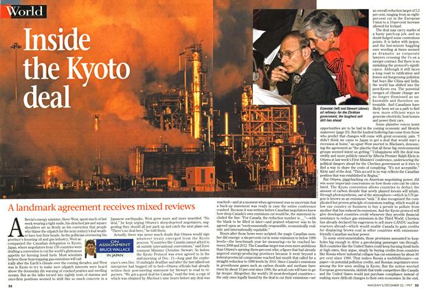 Article Preview: Inside the Kyoto deal, December 1997 | Maclean's