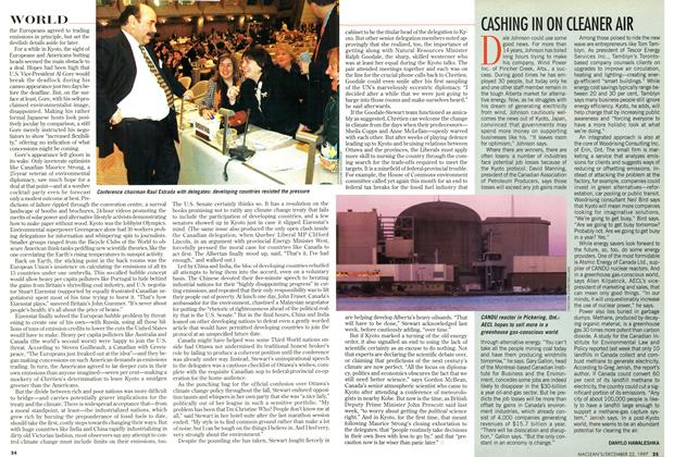 Article Preview: CASHING IN ON CLEANER AIR, December 1997 | Maclean's