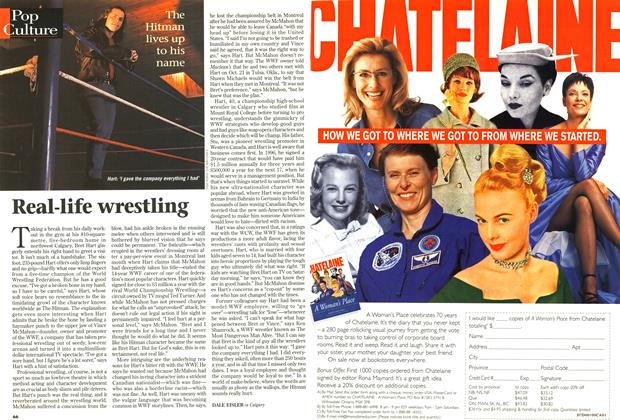 Article Preview: Real-life wrestling, December 1997 | Maclean's