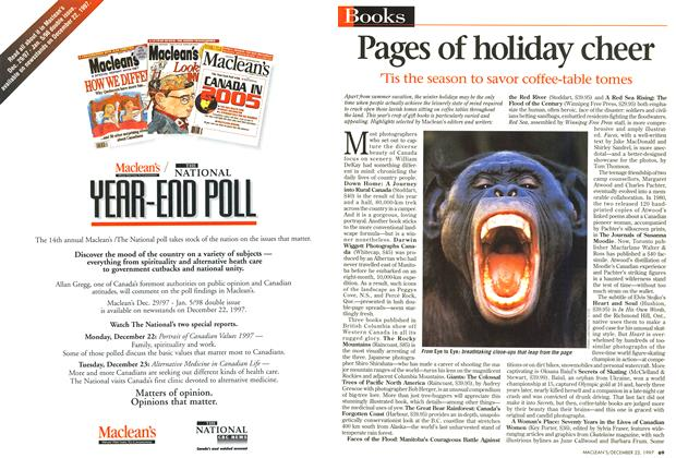 Article Preview: Pages of holiday cheer, December 1997 | Maclean's