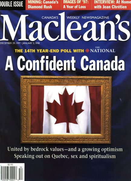 Issue: - DECEMBER 29, 1997 / JANUARY 5,1998 | Maclean's