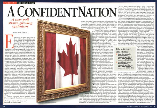Article Preview: A CONFIDENT NATION, DECEMBER 29, 1997 / JANUARY 5,1998 1997 | Maclean's