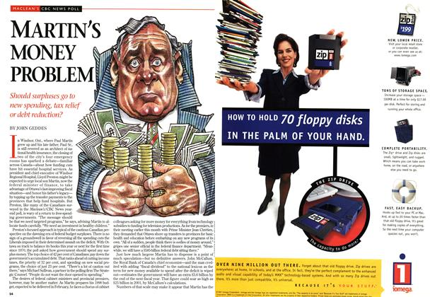 Article Preview: MARTIN'S MONEY PROBLEM, DECEMBER 29, 1997 / JANUARY 5,1998 1997 | Maclean's