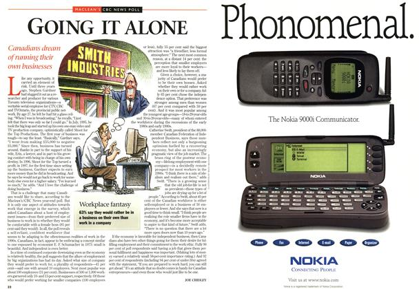 Article Preview: GOING IT ALONE, DECEMBER 29, 1997 / JANUARY 5,1998 1997 | Maclean's
