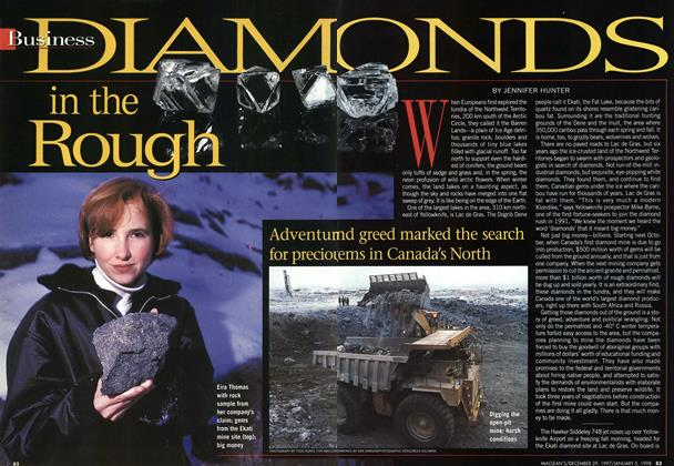 Article Preview: DIAMONDS in the Rough, DECEMBER 29, 1997 / JANUARY 5,1998 1997 | Maclean's