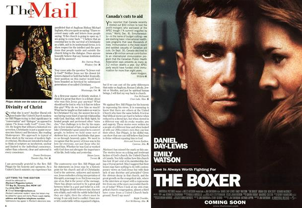 Article Preview: TheMail, DECEMBER 29, 1997 / JANUARY 5,1998 1997 | Maclean's