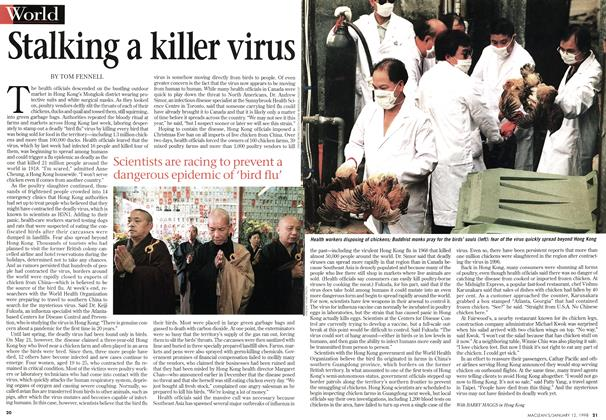 Article Preview: Stalking a killer virus, January 1998 | Maclean's