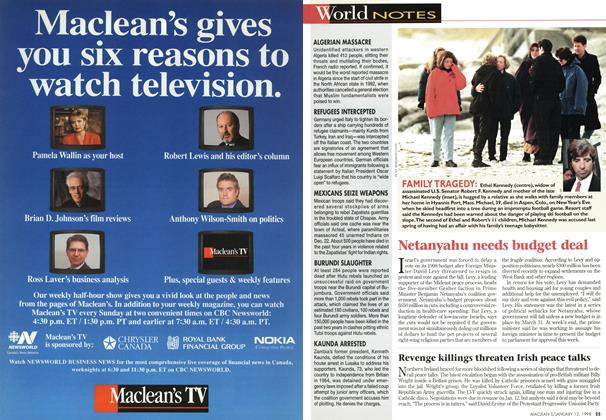 Article Preview: World NOTES, January 1998 | Maclean's