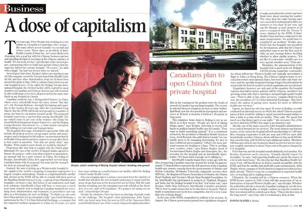 Article Preview: A dose of capitalism, January 1998 | Maclean's