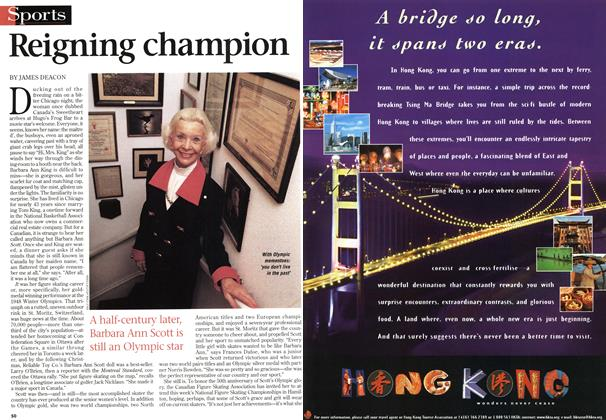 Article Preview: Reigning champion, January 1998 | Maclean's