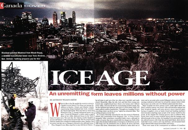 Article Preview: ICE AGE, January 1998 | Maclean's