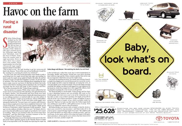 Article Preview: Havoc on the farm, January 1998 | Maclean's