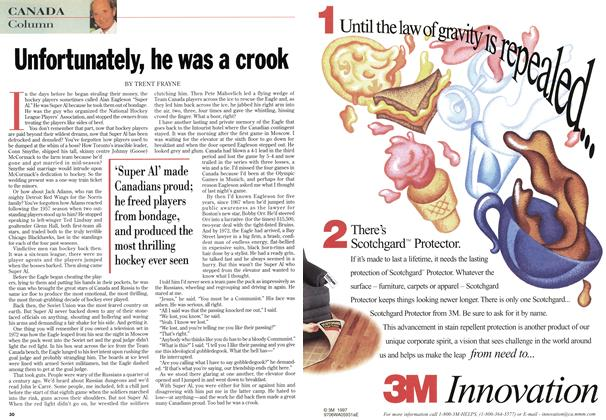 Article Preview: Unfortunately, he was a crook, January 1998 | Maclean's