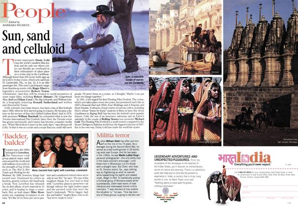 Article Preview: Sun, sand and celluloid, January 1998 | Maclean's
