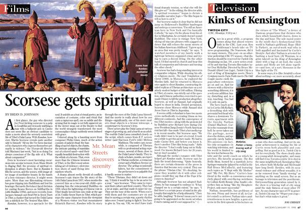 Article Preview: Kinks of Kensington, January 1998 | Maclean's