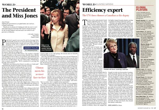 Article Preview: The President and Miss Jones, January 1998 | Maclean's
