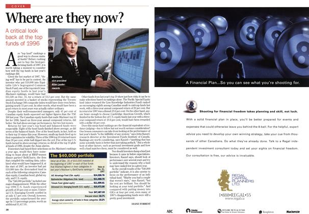 Article Preview: Where are they now?, January 1998 | Maclean's