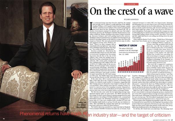 Article Preview: On the crest of a wave, January 1998 | Maclean's