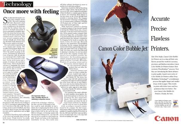 Article Preview: Once more with feeling, January 1998 | Maclean's
