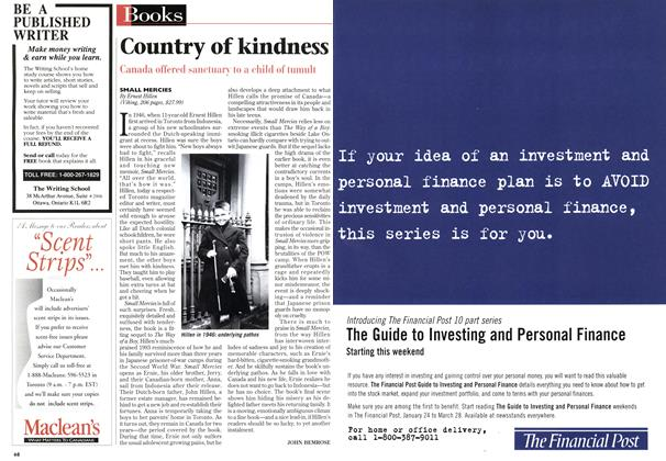 Article Preview: Country of kindness, January 1998 | Maclean's