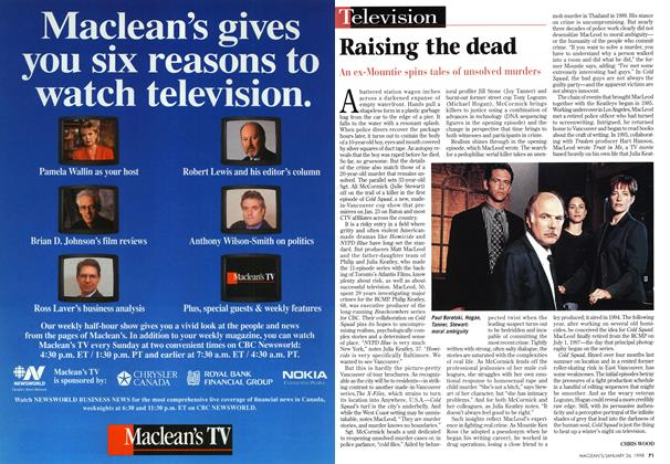 Article Preview: Raising the dead, January 1998 | Maclean's