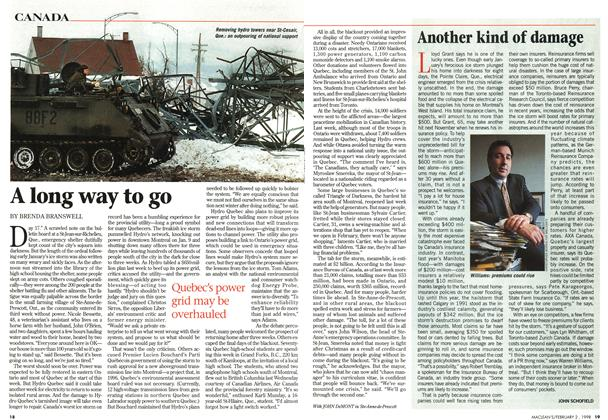 Article Preview: A long way to go, February 1998 | Maclean's