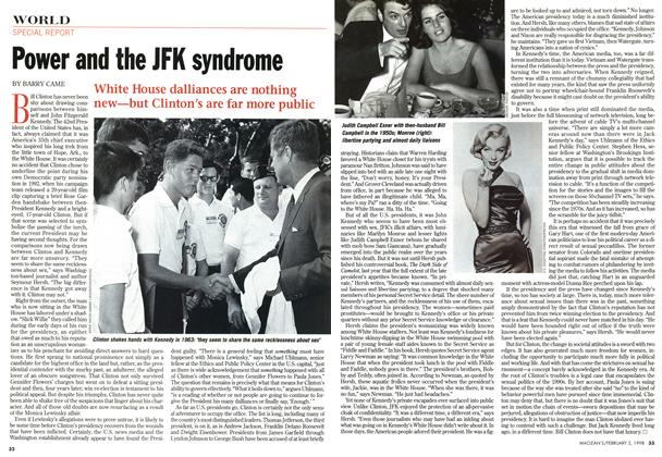 Article Preview: Power and the JFK syndrome, February 1998 | Maclean's
