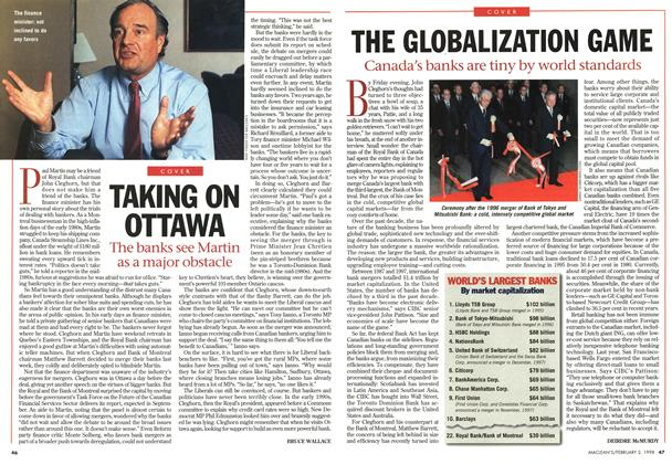 Article Preview: TAKING ON OTTAWA, February 1998 | Maclean's