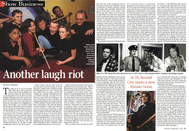 Article Preview: Another laugh riot, February 1998 | Maclean's
