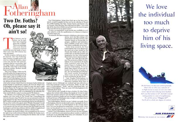 Article Preview: Two Dr. Foths? Oh, please say it ain't so!, February 1998 | Maclean's