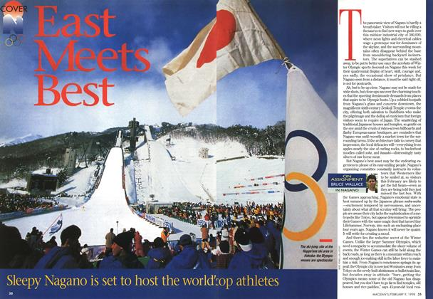 Article Preview: East Meets Best, February 1998 | Maclean's